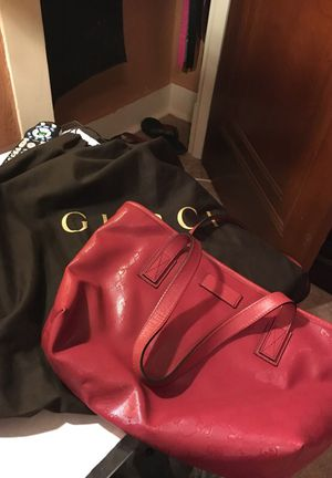 Red Authentic Gucci Bag for Sale in Pittsburgh, PA