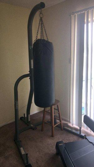 Punching Bag stand with UFC Heavy Bag for Sale in Humble, TX