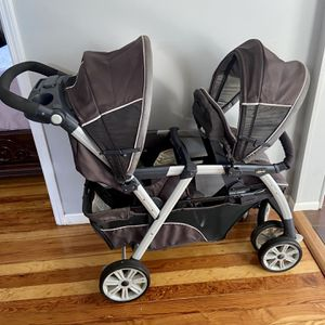 Chicco cortina together double stroller for Sale in Lansing, IL