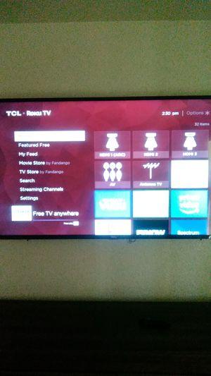 """55"""" tcl Roku tv for Sale in Phoenix, AZ"""