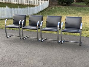 Authentic Knoll BRNO Chairs for Sale in Vienna, VA