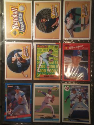 Lot of 120+ Nolan Ryan baseball cards for Sale in Tallahassee, FL