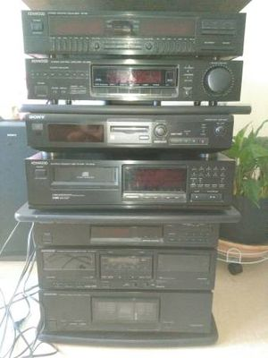 Kenwood spectrum 990d stereo rack system-$800 for Sale in Marina del Rey, CA