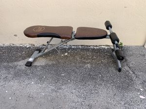 CAP Strength Multi Purpose FID Bench - Good Condition - Locks Open - Folds Down for Storage for Sale in Lauderdale Lakes, FL