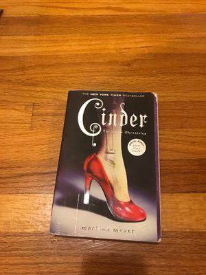 Cinder, by marissa Meyer for Sale in Escondido, CA