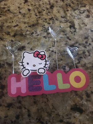 Hello kitty picture holder for Sale in Peoria, AZ