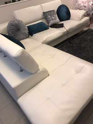 White Sectional for Sale in Oakland Park, FL