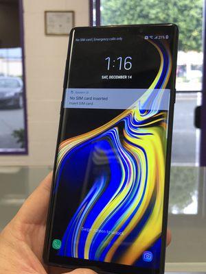 New Galaxy Note 9 unlocked T-mobile Metropcs for Sale in Pico Rivera, CA