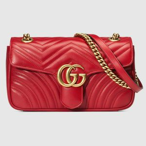 Gucci Marmont Purse (RED) for Sale in Stone Mountain, GA