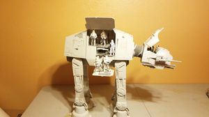 Hasbro Star Wars AT AT Walker delux. for Sale in Tampa, FL