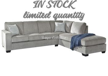 New Sectional Sofa, Alloy, SKU# ASH87214LAF for Sale in Norwalk,  CA