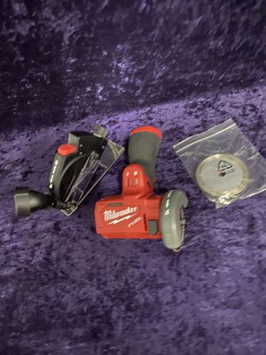 💥🧰🛠Milwaukee 12V fuel brushless 3in cut off saw! (Tool only) $85 this weekend💥🧰🛠 for Sale in Irving, TX