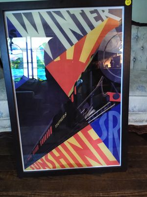 Vintage railroad poster. for Sale in Tracy, CA