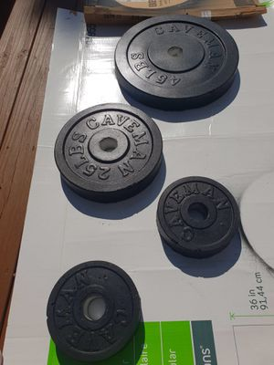 Weight Plates - Olympic Barbell for Sale in Raleigh, NC