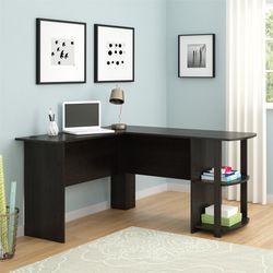 Ameriwood Home Dominic L Desk with Bookshelves, Espresso for Sale in Salem,  OR