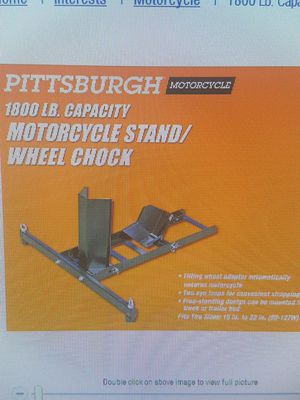 Motorcycle Stand for Sale in Durham, NC