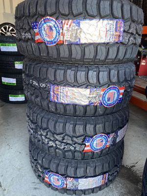 33/12.50/20 new federal rough terrain tires for Sale in Moreno Valley, CA