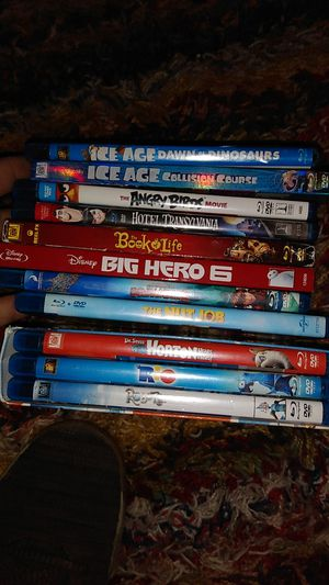 14 blue ray kids movie s dvds asking for Sale in Indianapolis, IN