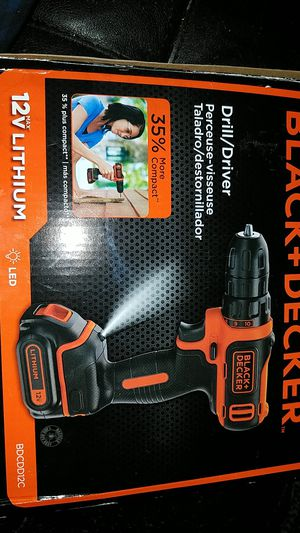 Black Decker 12V Drill for Sale in Candler, NC