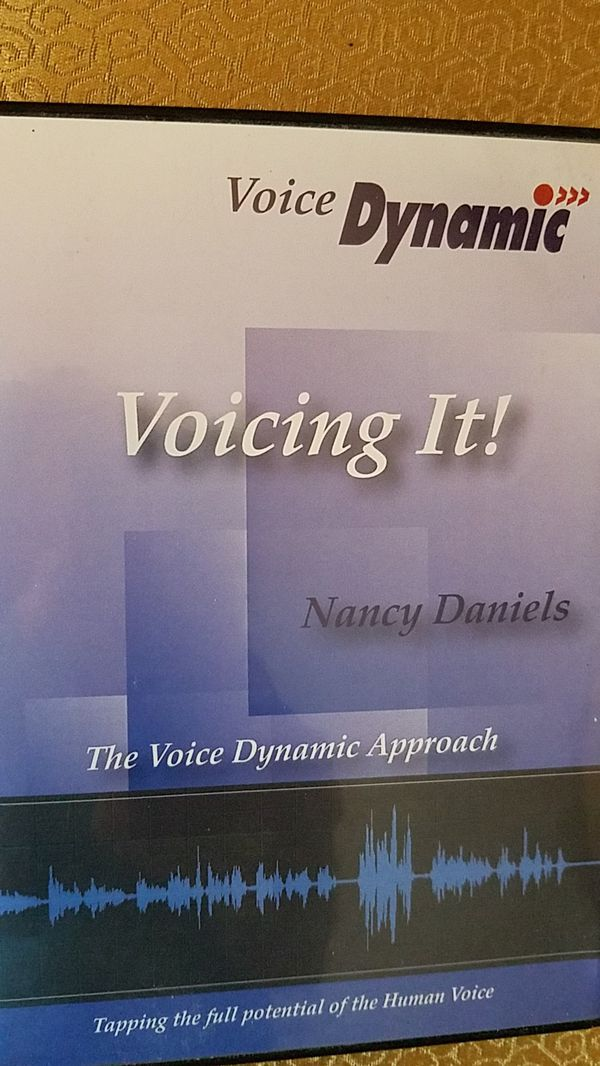 """""""Voicing It"""" DVD and manual"""