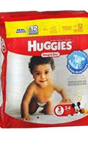 Huggies baby pampers for Sale in Virginia Beach, VA
