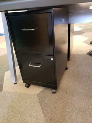 Black Filing Cabinet × 16 for Sale in Alexandria, VA