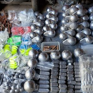 Downrigger balls, Drift boat Anchor's, Cannonball fishing weights, Flutter/Pipe jigs, Crabpot weight for Sale in Tacoma, WA