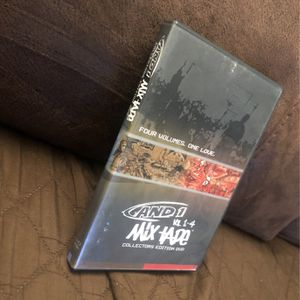 And 1 MIX TAPE vol 1 - 4 collectors edition (DVD 2001). Complete: Original Case, Disc, & Manual. for Sale in South San Francisco, CA