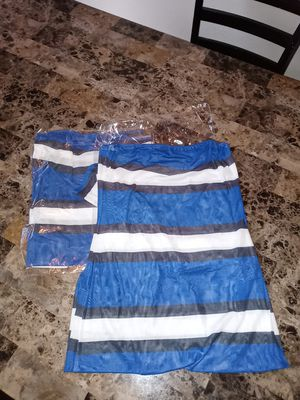 Blue and Black Dress for Sale in Las Vegas, NV