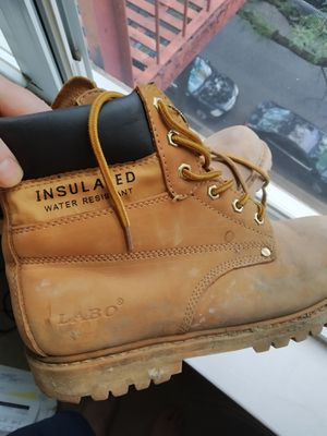 Labo Work boots barely ever used oil resistant .Size 11 USA for Sale in Queens, NY