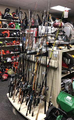 Assorted fishing poles and reels for Sale in Altamonte Springs, FL