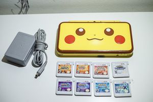 Nintendo 2ds XL, Pikachu Edition! Pokémon Collection! 3ds! for Sale in Denver, CO