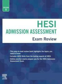 HESI A2 study guide 5th edition for Sale in Smyrna, TN