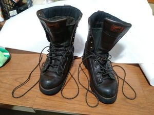 Irish Setter steel toe work boots, men's size 10.5 medium for Sale in Clinton Township, MI