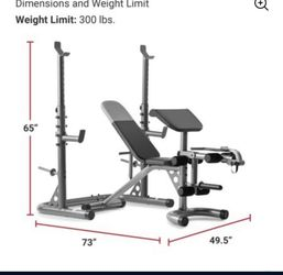 Weight Rack And Bench for Sale in South Gate,  CA