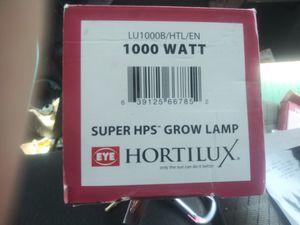 Hortilux. 1000 watt Super HPS Grow Light 7available $45ea new in box for Sale in Riverside, CA