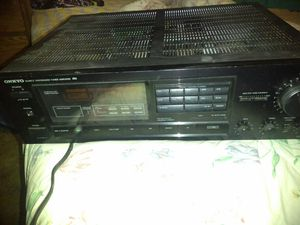 ONKYO AMPLIFIER for Sale in Mountain View, CA