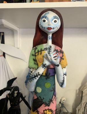 Disney nightmare Before Christmas Sally large statue figurine figure for Sale in Las Vegas, NV
