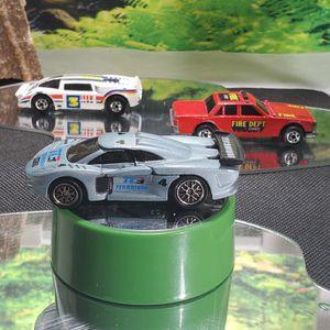 Hotwheels Crack-ups BLIND SIDER 1984/ 1983 Crack-ups FIRE CHIEF/ 1998 Crashers Set Vehicle for Sale in Ellington, MO