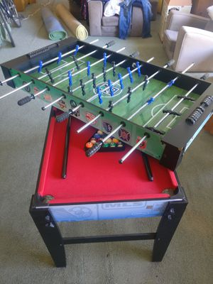 Foosball and Mini Pool Table for Sale in Carmichael, CA