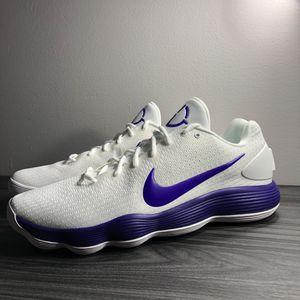 Nike Hyperdunk 2017 Basketball Shoes White/Purple for Sale in Wichita, KS