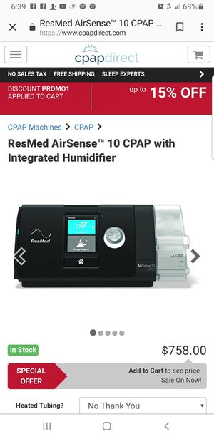 Resmed CPap machine for Sale in Gallatin, TN