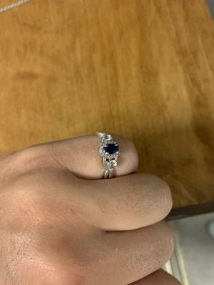 8 1/2 size sapphire stone Kay Jewelers ring for Sale in Warrenville, IL