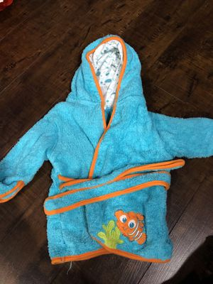 Finding nemo bathrobe for Sale in Boring, OR