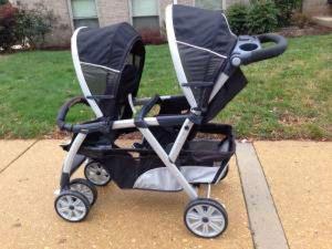 Chicco cortina double stroller for Sale in Alexandria, VA