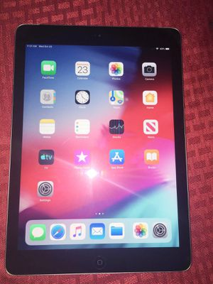 """iPad Air (Cellular UNLOCKED) Usable with Wi-Fi and all Company Carrier SIM """"as like nEW"""" for Sale in Springfield, VA"""