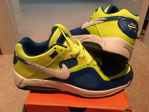 """"""" MINT CONDITION """" AIRMAX : BEAUTIFUL PHOTO BLUE /w VOLT LIME - MENS 10.5 !!!! EXTREMELY HARD TO FIND !!! for Sale in Orlando, FL"""