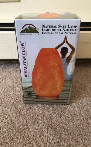 Himalayan Flow Natural Salt Lamp for Sale in MERRIONETT PK, IL
