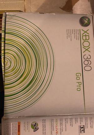 Xbox 360 - Go Pro w/accessories Halo 3 for Sale in Frederick, MD