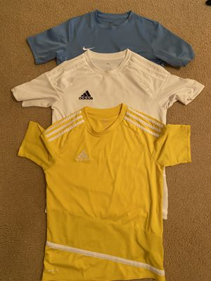 Adidas and Nike t-shirts for 12-13 years old for Sale in North Miami, FL